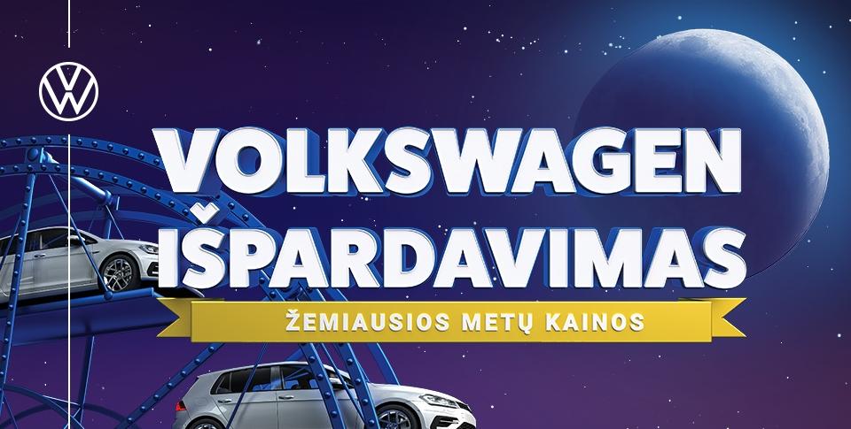 Volkswagen išpardavimas.